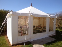 bell-tent-hire-cornwall-Kitchen-Tent & bell-tent-hire-cornwall-Kitchen-Tent | Love Glamping