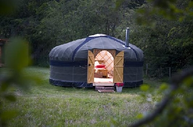 YURTS IN THE LAKE DISTRICT