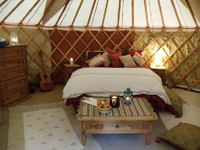 Glamping at Woods Rest, Scotland