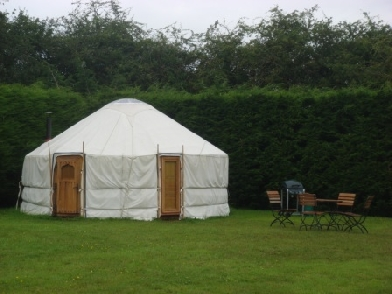 Glamping at Suffolk Retreats