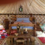 glamping-northumbria-wild-northumbrian-yurt-bed