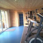 Glamping at Northumberland wigwams-gym-1