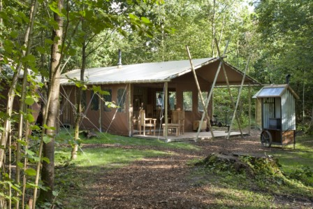 FEATHERDOWN COUNTRY RETREATS AT CHESTERS Glamping Scotland with Hot Tub