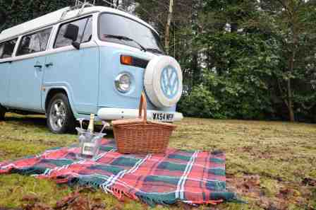 VW CAMPER HIRE Campervan Hire Hampshire