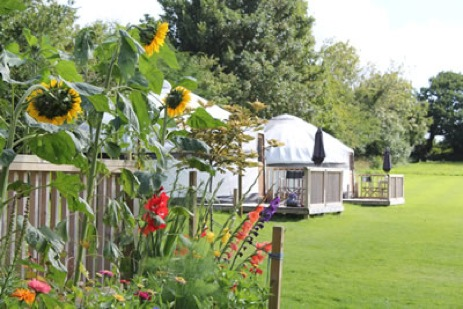 LUXURY CORNISH YURTS Glamping Cornwall with Hot Tub