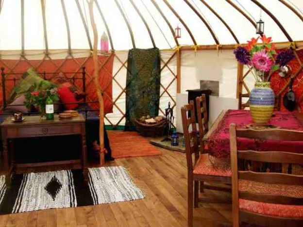 MILL VALLEY YURTS Glamping Cornwall