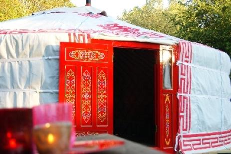 glamping-wales-cae-wennol-red-yurt