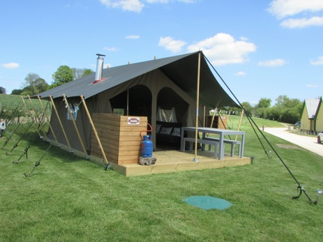 WATERCRESS LODGES Glamping Hampshire