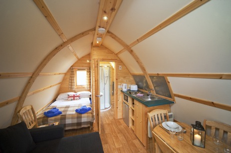 glamping-scotland-with-hot-tub-superior-wigwam-interior