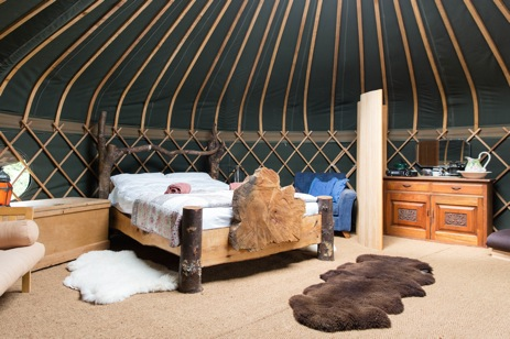 glamping-surrey-hills-yurts-hazel-inside