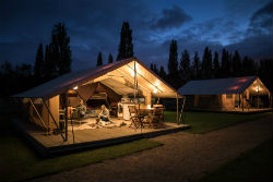 CALIFORNIA CROSS READY CAMP Glamping in Devon