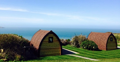 PODS, CABINS AND WIGWAMS IN WALES