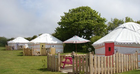 Glamping Cornwall With Swimming Pool