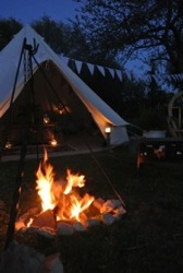 gl&ing-the-cotswolds-orchard-bell-tent-c&fire-s & Glamping The Cotswolds