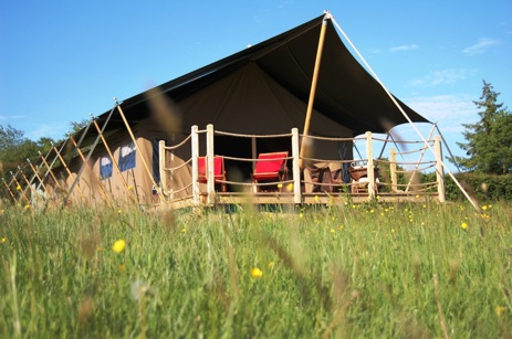 WELCOMBE MEADOW Glamping Devon