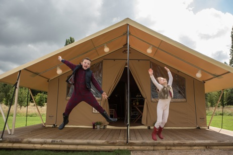 DRAYTON MANOR READY CAMP Glamping Staffordshire