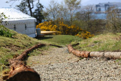 glamping-scotland-kelburn-estate-side-of-yurt-small