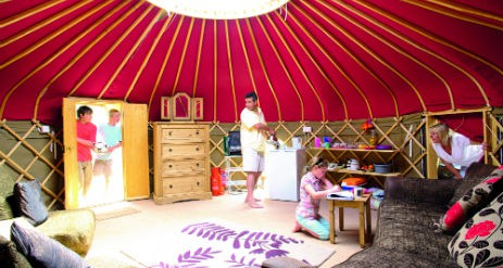Camping Beds For Tents >> Glamping Cornwall