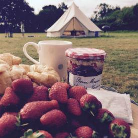 glamping-norfolk-gorsey-meadow-strawberries
