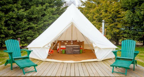 Glamping Norfolk With Hot Tub