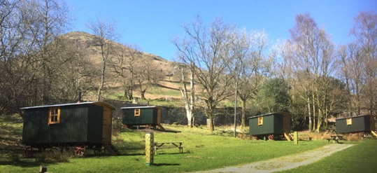 THE HERDWICK HUTS Glamping The Lake District