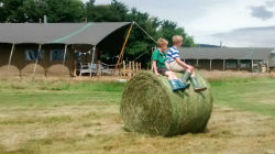 glamping-somerset-with-hot-tub-middle-stone-farm-hay-bail