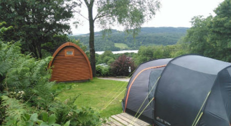 PODS AND CABINS INT HE LAKE DISTRICT