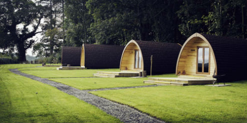 THORNFIELD CAMPING CABINS Glamping Cumbria and The Edge of The Lake District