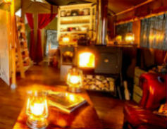 glamping-devon-longlands-lodges-wood-burner