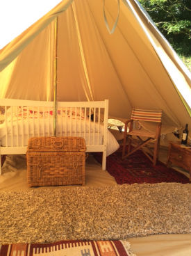 glamping-cornwall-lowena-bell-tent-camping-exterior