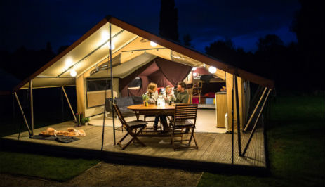 CONKERS READY CAMP Glamping Derbyshire