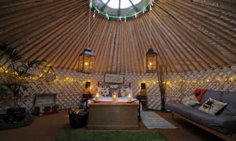 GLAMPING ON THE HILL Glamping Somerset