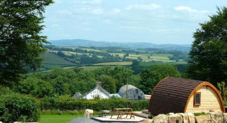 WINLLAN FARM HOLIDAYS Glamping Wales