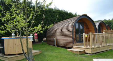 DERWENT VIEW Glamping County Durham and Northumberland with Hot Tub