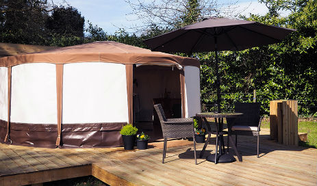 YURT GLAMPING IN THE NEW FOREST