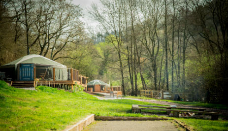 HIDDEN VALLEY YURTS Glamping Wales