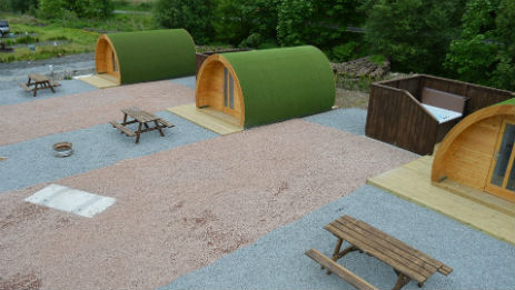 BARRHILL HOLIDAY PARK Glamping Scotland with Hot Tub