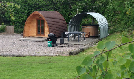 GORSEBANK Glamping Scotland with Hot Tub