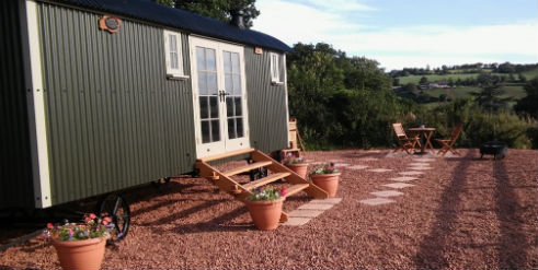 HOLLY WATER HOLIDAYS Social Distancing Glamping in Devon