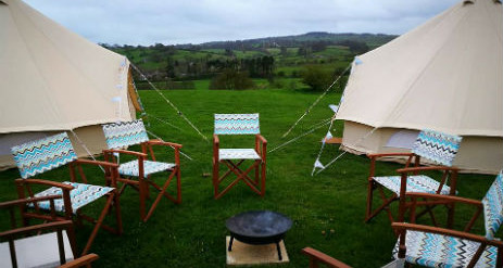BELLOWS GLAMPING Bell Tent Hire Derbyshire and The Peak District. PrevNext & Glamping Bell Tent Hire Derbyshire and The Peak District