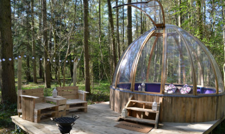 CAMP KATUR Glamping Yorkshire with Hot Tub