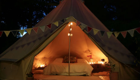 SOUL CAMPING Glamping Cornwall with Hot Tub
