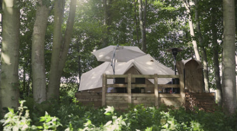 GLAMPOTEL PAXTON HOUSE Glamping Scotland