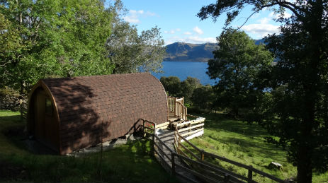 THE WEE LODGE Glamping Scotland