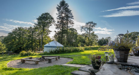 FRON FARM YURT RETREAT Glamping Wales