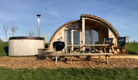 OPEN ALL YEAR ROUND GLAMPING