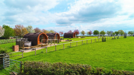 WINGBURY FARM Glamping Buckinghamshire with Hot Tub