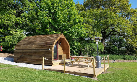 WELLTROUGH HALL FARM PODS Glamping Cheshire