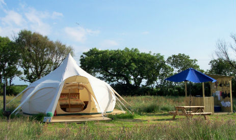CHEGLINCH FARM GLAMPING Devon