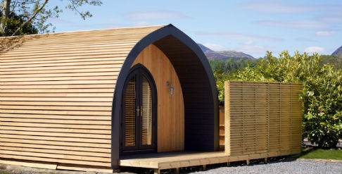BRAIDHAUGH HOLIDAY PARK Glamping Scotland with Hot Tub